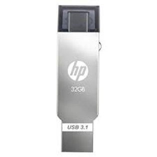 Pendrive HP 32GB X304M OTG Type-C