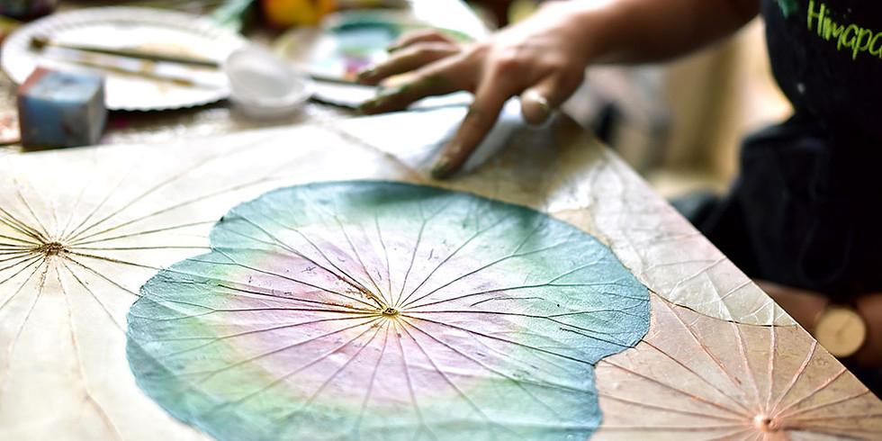 Lotus painting workshop