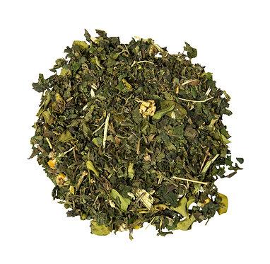 شاي الأحلام السعيدة - توليفة البابونج وجوز الهند والأعشاب