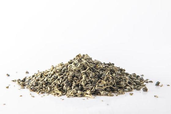 شاي البارود الصيني العضوي درجة أولى