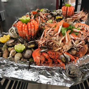 Buffet fruits de mer