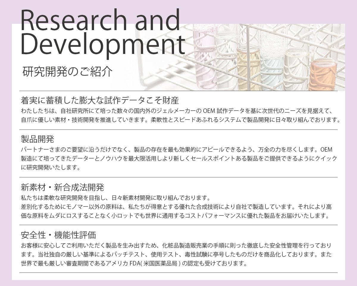 研究開発のご紹介