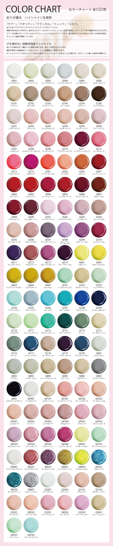 カラーチャート表