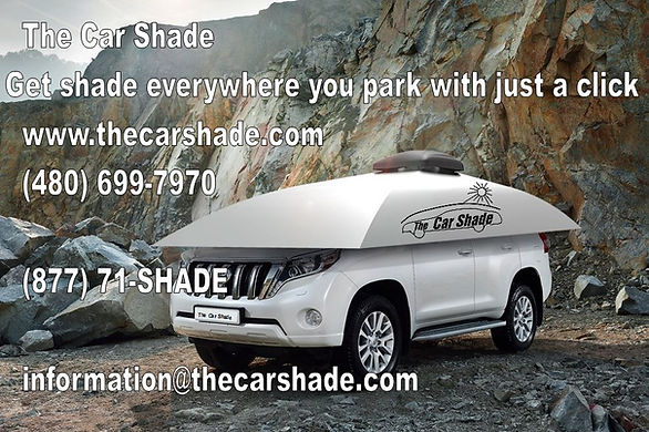 Get shade everywhere you park with just a clicki