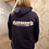 Thumbnail: JG FITNESS HOODIE (NAVY WITH WHITE LOGO)