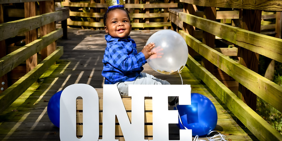 Friday 13th Special First Birthday Session