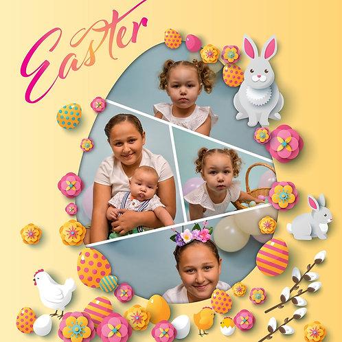 Easter Egg Template 1