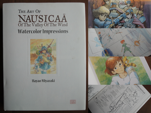 Book Review: The Art of Nausicaa - Watercolor Impressions