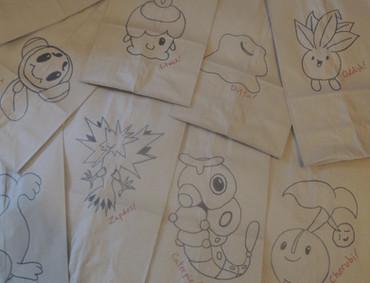 Pokemon Lunch Bags