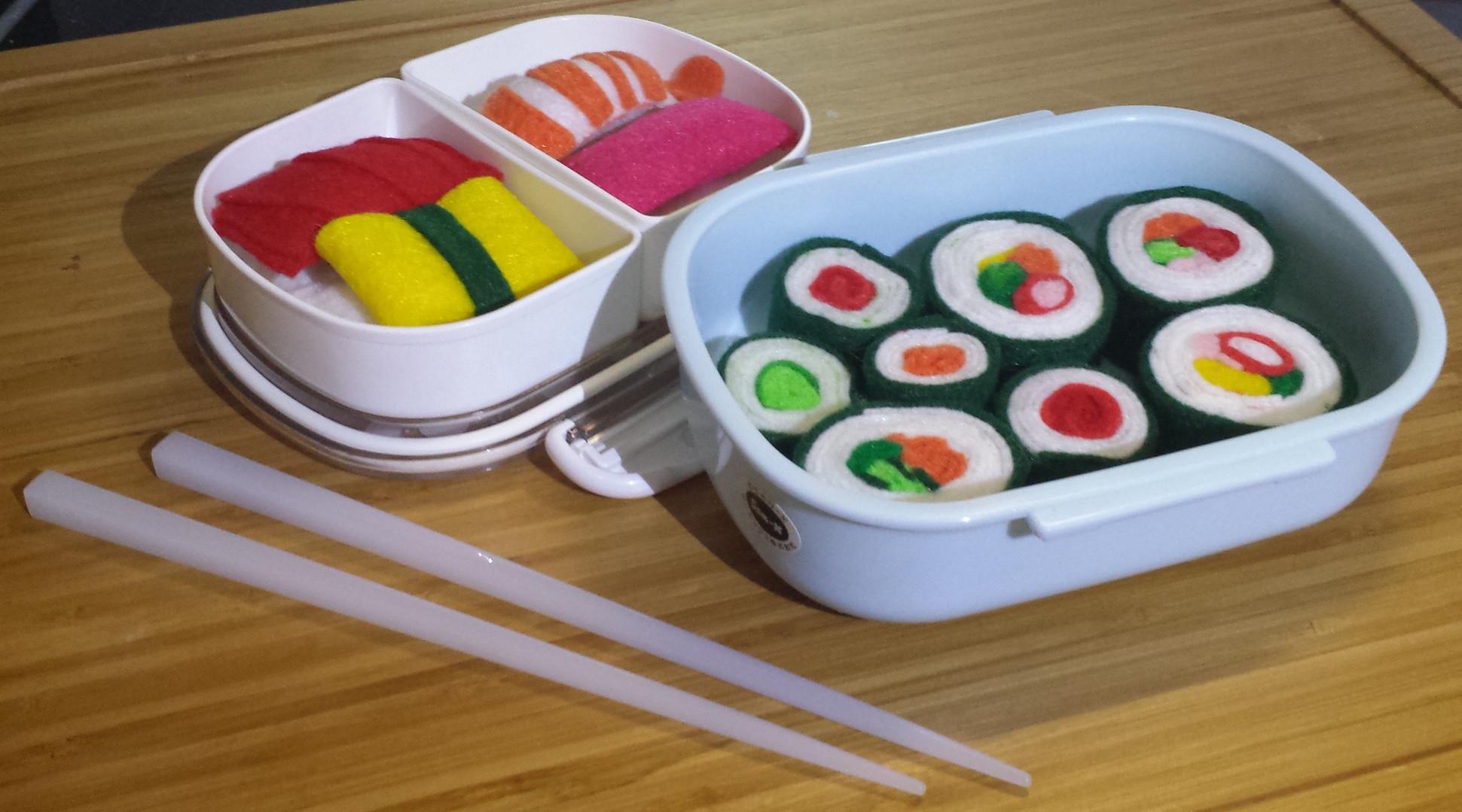 Felt Sushi