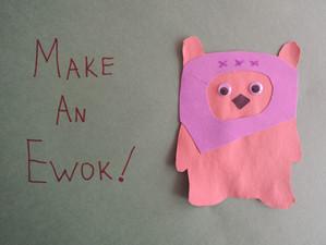 Star Wars Ewok Kids Craft