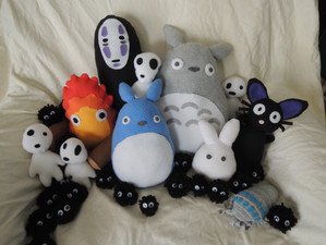 Studio Ghibli Plushies