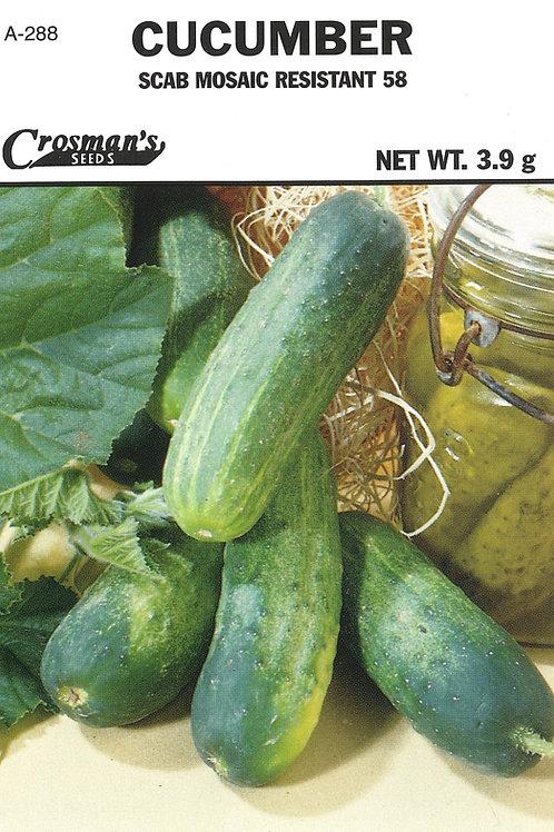 Cucumber Scab Mosaic Resistant 58