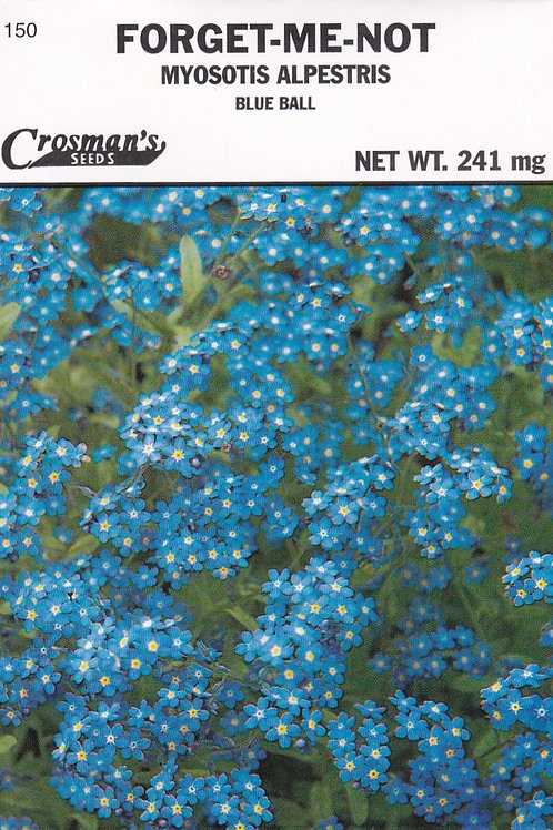 Forget-me-not: Myosotis Alperestris Blue Ball