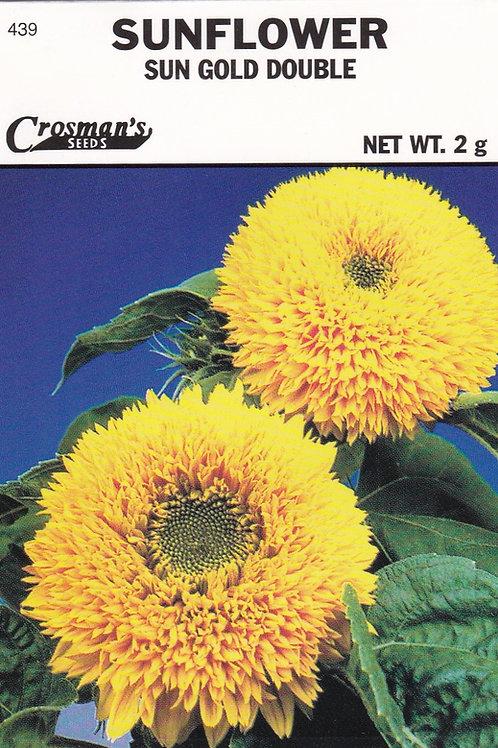 Sunflower Sun Gold Double