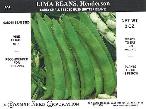 Lima Bean Henderson
