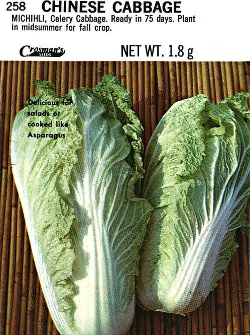 Cabbage Chinese Michihli