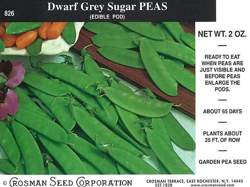 Peas Dwarf Grey Sugar