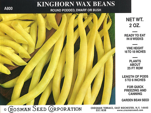 Bean Kinghorn Wax