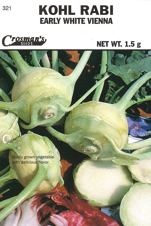 Kohl Rabi Early White Vienna