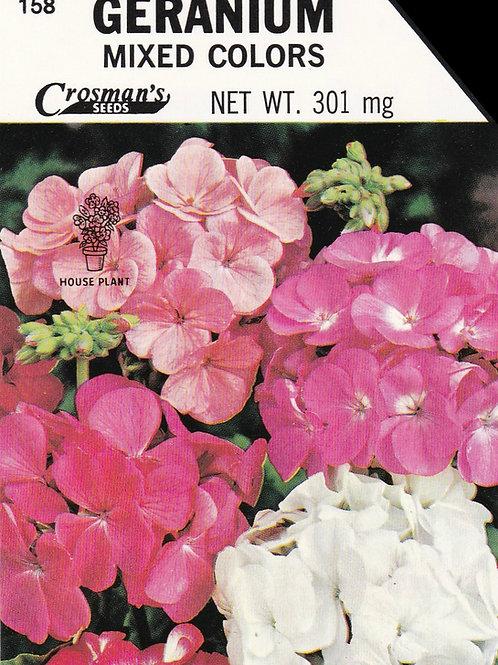 Geranium: Mixed Colors