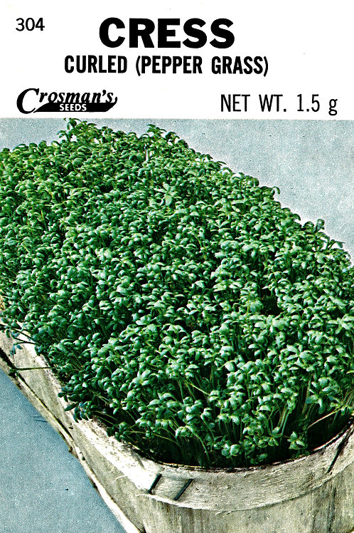 Cress Curled Pepper Grass