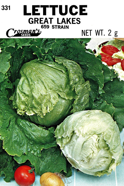 Lettuce Great Lakes 659 Strain
