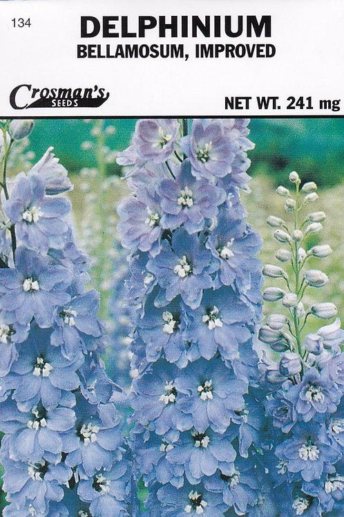 Delphinium Bellamosum, Improved