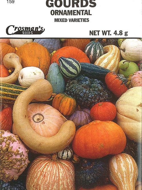 Gourds: Ornamental Mixed Varieties