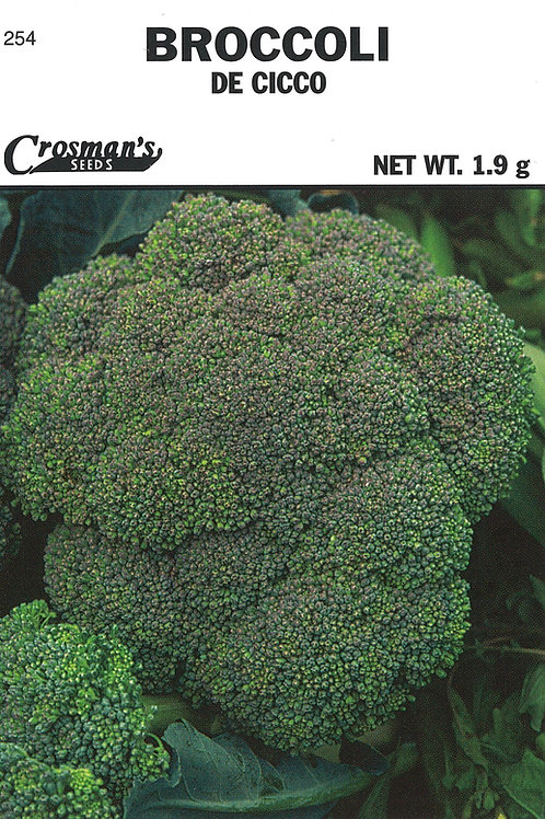 Broccoli De Cicco Early