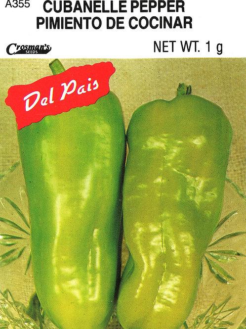 Pepper Cubanelle Del Pais