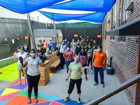 AIA Day of Service 2020 | BRC Men's Shelter Exterior Upgrade | Brooklyn, NY