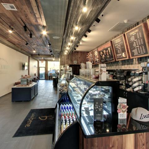 Trendy New Coffee Shop