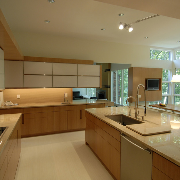 Ultra-Modern Dix Hills Kitchen Addition