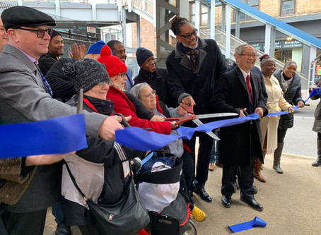 Nostrand Ave Station Grand Opening