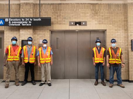 New Elevators at 181st Street Subway Station