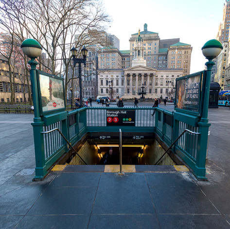 NYCT REPLACEMENT OF ELEVATORS AT BOROUGH HALL AND FRANKLIN AVE STATIONS