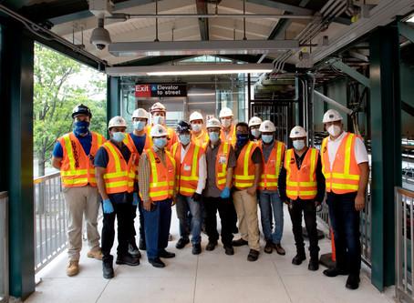 Astoria Boulevard Station Elevators Are Now Open!