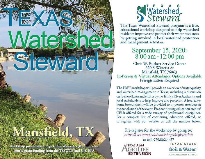 Texas Watershed Steward