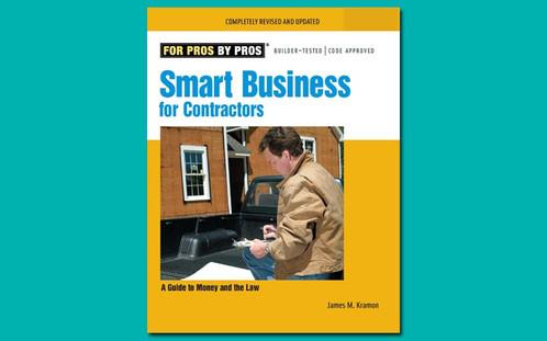 Smart Business For Contractors Construction Books