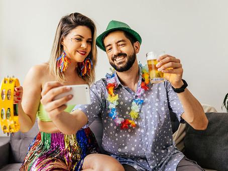 5 dicas de como aproveitar o Carnaval em casa com saúde e segurança