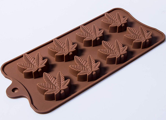 Weed Leaf Chocolate Moulds