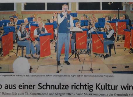 Der Musikverein machts -  aus Schnulzen wird Kultur