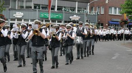 """Schützenfest in der """"Stadtmitte"""""""