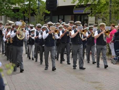 """Schützenfest in Vechta mit der Kompanie """"Stadtmitte"""""""