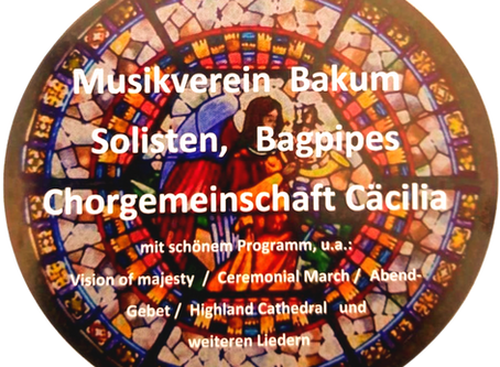 Programmfolge zum Kirchenkonzert