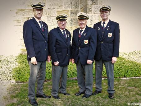 Vier Vorsitzende freuen sich aufs Jubiläum