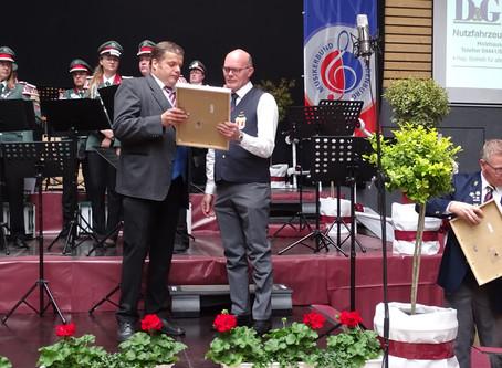 Der Musikerbund ehrt unsere Jubilare