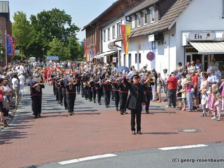 Volksfest schon im Zeichen unseres 100-jährigen Jubiläums
