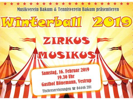 Winterball gemeinsam mit dem Tennisverein Bakum